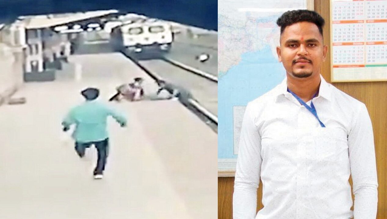 Rail Worker Who Saved Child From a Train Now Donates Half His Reward Money to Boy's Family (Watch the Rescue)