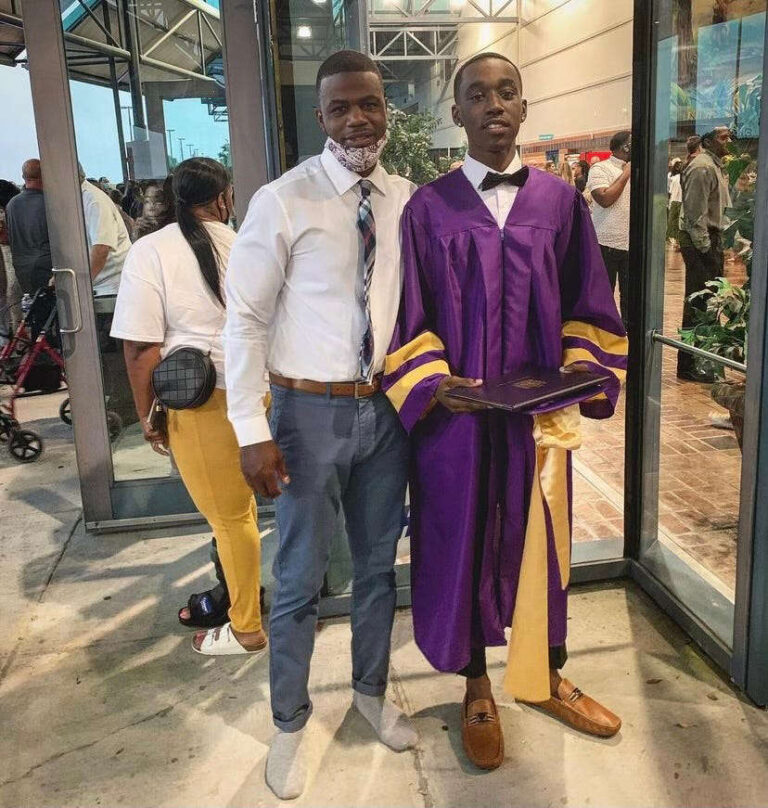 A shoe policy almost kept a high school senior from walking at his graduation; then a teacher stepped in